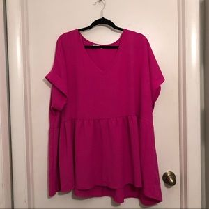 Chic Soul Raspberry Top